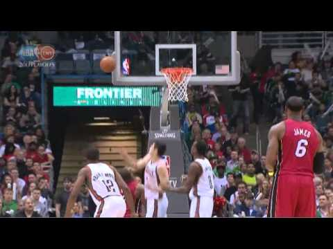 Larry Sanders takes it coast to coast finishes with dunk Heat-Bucks Game 3