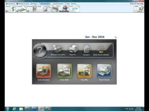 Church Windows Software v19 - Accounting: Reports for financial meetings.