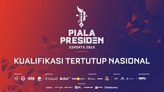 PIALA PRESIDEN ESPORTS 2019 - KUALIFIKASI TERTUTUP NASIONAL | LOUVRE JG vs THE PRIME