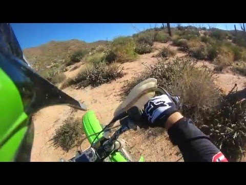 Sean's loop, solo ride, Arizona singletrack
