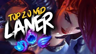 Top 20 MID LANER Plays #17 | League Of Legends