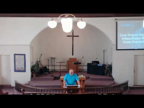 Windber First Assembly of God's Current Sermon by David McGee