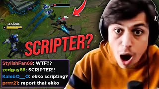 LL STYLISH | I LANED AGAINST A SCRIPTER IN DIAMOND?
