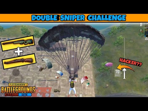 PUBG MOBILE LITE Only *SNIPER* Challenge || FUNNY MOMENTS