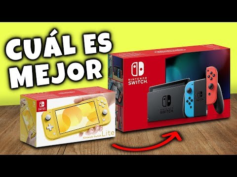 ¿Cuál es mejor comprar? Una Nintendo SWITCH normal o una Switch LITE 🤔