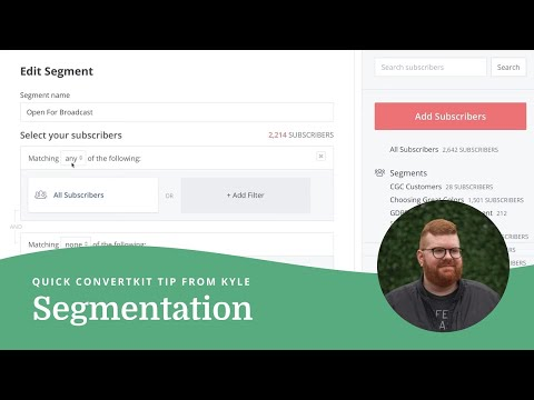 Segmenting for Broadcasts
