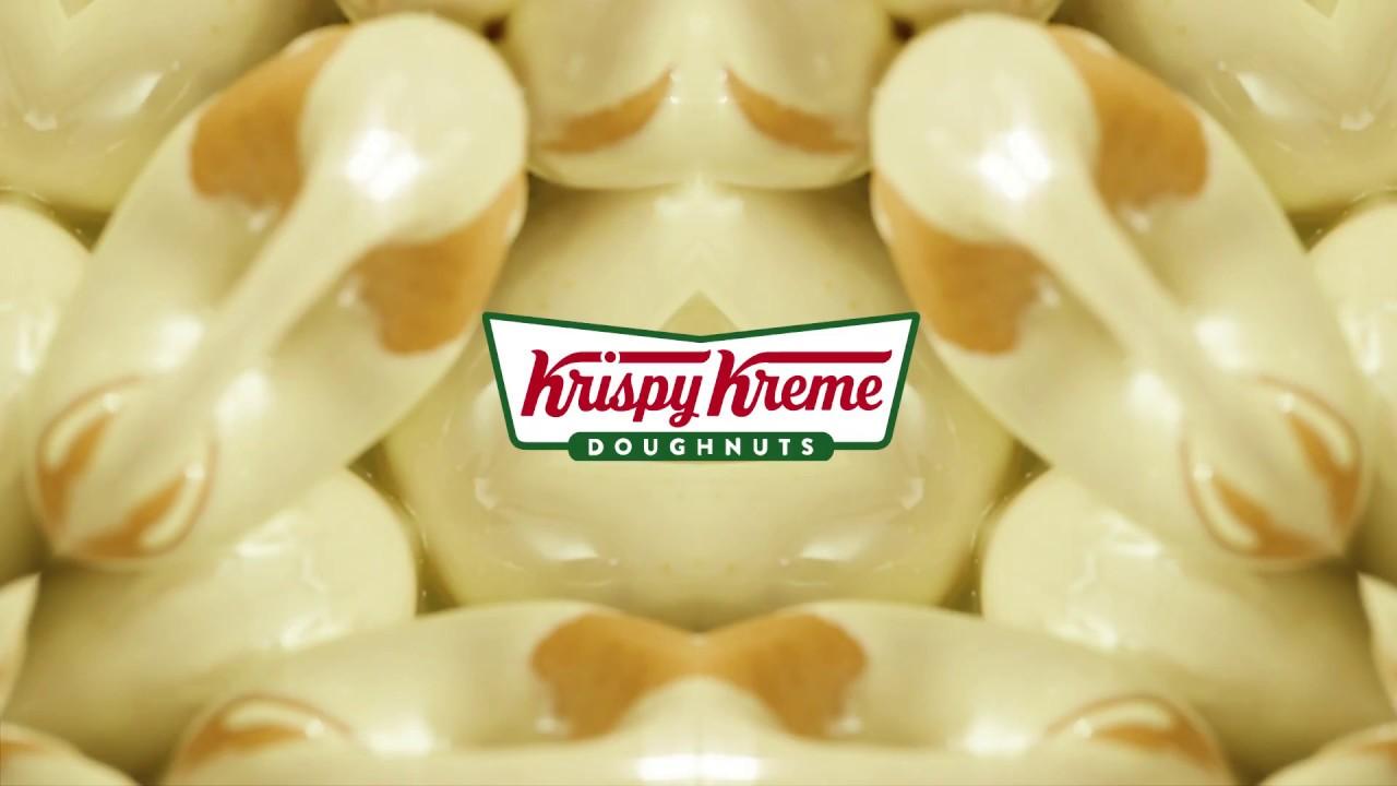 Krispy Kreme Lemon Glaze Doughnuts