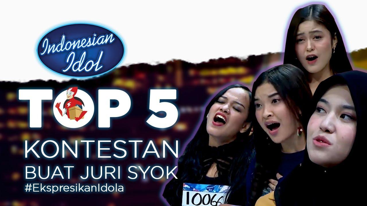 Paket Komplit ! TOP 5 Kontestan Buat Juri Syok - Audition 4 - Indonesia Idol 2021