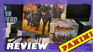 Panini Avengers: Infinity War Stickeralbum REVIEW + UNPACKING - Trading Cards Kollektion