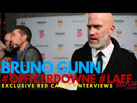 Bruno Gunn ed at the World Premiere of