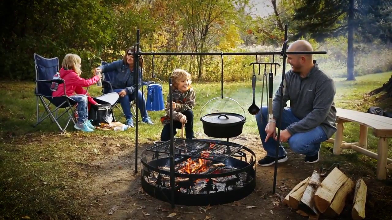 Guide Gear Campfire Cooking Equipment Set