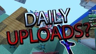 Daily uploads?! - Hypixel skywars