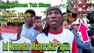 Jokowi Kampanye Di Papua, Begini Tanggapan Masyarakat Papua