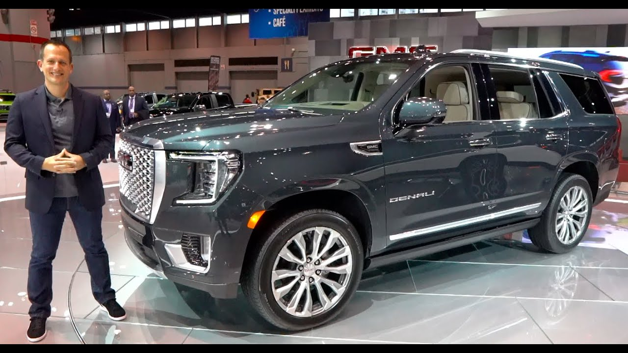 Best Large Suv 2021 Is the ALL NEW 2021 GMC Yukon Denali the BEST full size luxury SUV