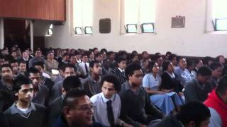 "Wesley College sing ""Thank you"" to  Pastor Joe - Destiny Church, Hawaii"