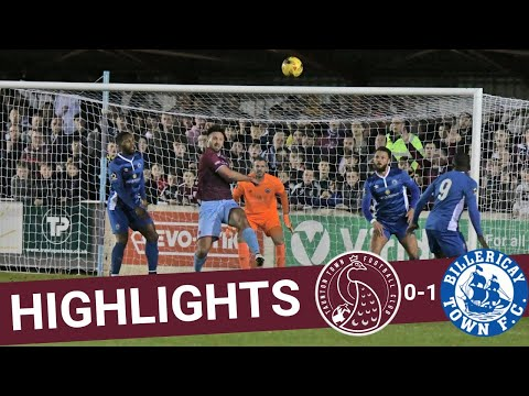 Extended Highlights: Taunton Town 0-1 Billericay Town