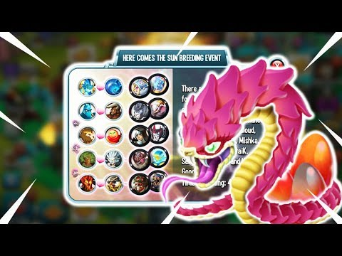 Download NEW MAGIC PATH | THE SUN BREEDING EVENT GAMEPLAY : Monster Legends