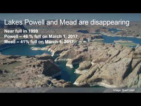 2017 Stegner Symposium: Changing Knowledge and Science – Climate Change, Water and the West