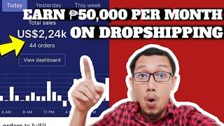 Paano Kumita Ng ₱50,000 Per Month Sa Dropshipping
