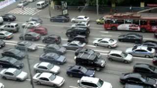 Вечер в Москве/traffic in moscow
