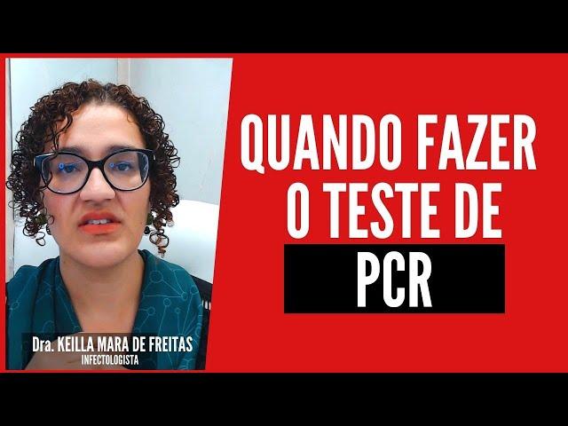 Teste De PCR: Indicação Para Pessoas Em Contato De Infectados De Covid Teste de PCR