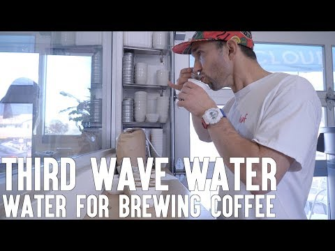 Third Wave Water | Water Treatment For Brewing Coffee | Real Chris Baca
