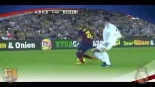 Download Video Dani Alves tunnelt Cristinano Ronaldo Barcelona Real Madrid 26.10.13 MP3 3GP MP4