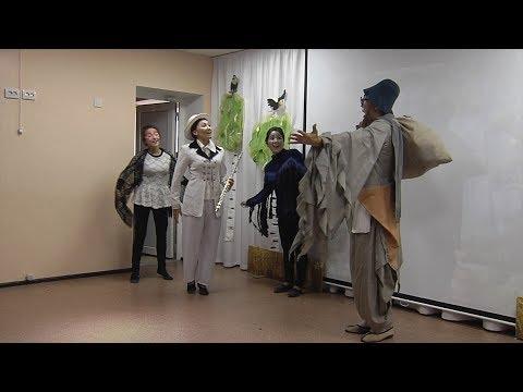 Спектакль «Две сороки» Народного театра «Корос»