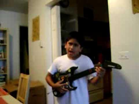 Kid Breaks Guitar
