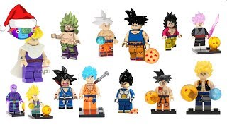 LEGO de Dragon Ball Super: Goku Ultra Instinto, Black, Broly, Whis, Hit, Jiren, Gogeta...