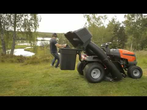 Husqvarna 2 Bin Grass Collector For 97cm Cutter Deck The