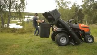 Husqvarna 2 Bin Grass Collector for 97cm Cutter Deck - The Green Reaper