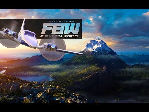 ᴴᴰFlight Sim World - Five biggest cities in the world