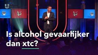 Is alcohol gevaarlijker dan xtc?