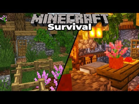WITCH HUT and BUTCHER : Minecraft 1.14 Survival Let's Play S2