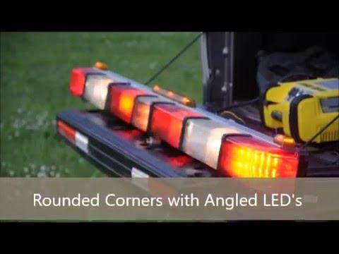 whelen 4500 series light bar youtube rh youtube com