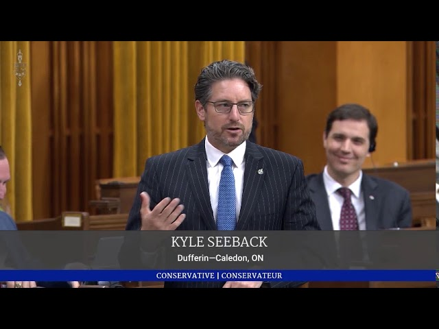 KYLE SEEBACK, M.P. SPEAKS ON BILL C-7: AN ACT TO AMEND THE CRIMINAL CODE (MEDICAL ASSISTANCE IN DYIN