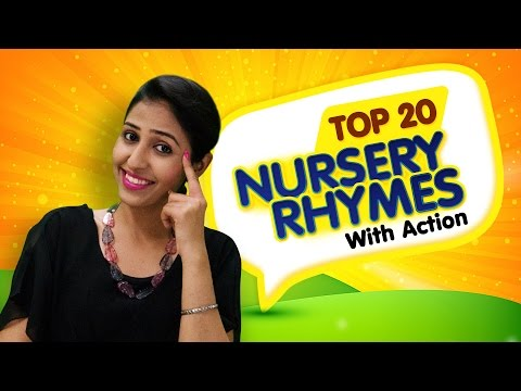 Nursery Rhymes For Kids  Top 20 Action Songs For Children  Nursery Rhymes With Actions