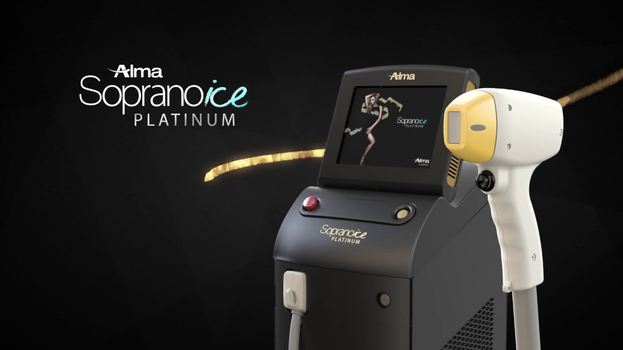 Alma Lasers Soprano Platinum ICE - Laser Hair Removal Solution India