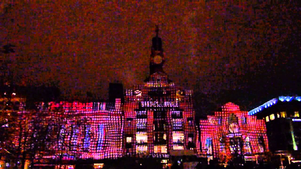 Delightful Baltimore Inner Harbor Holiday Light Show 2012 Great Ideas