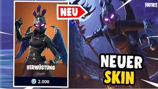 🔴NEW RABEN SKIN in SHOP!👌ZUSAMMEN SIEGE HOLEN👌 | Fortnite Battle Royale