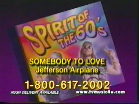 Spirit of the 60s music cd commercial longer version
