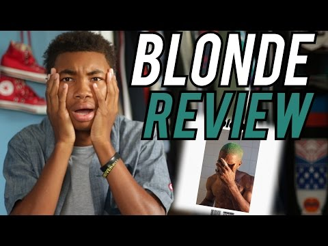 Frank Ocean - Blonde ALBUM REVIEW