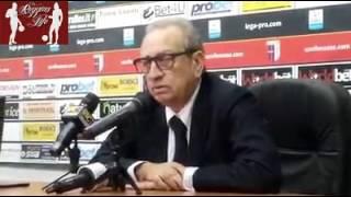 Vibonese-Reggina il Direttore Martino nel post partita (30/10/2016)