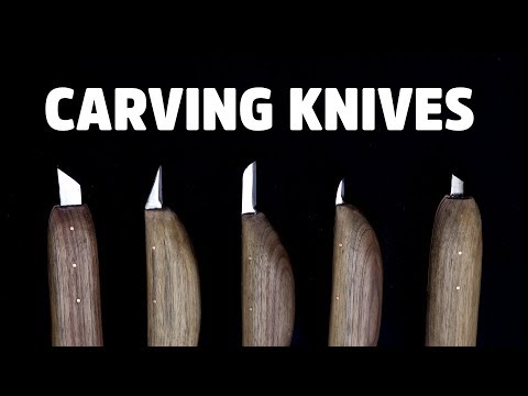 Making Carving Knives From Firewood and a Saw Blade - HNB #16