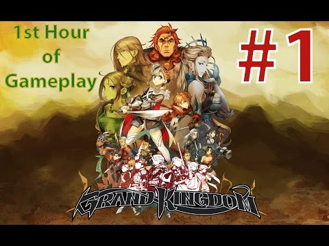 Grand Kingdom Walkthrough Part 1: First Hour of Gameplay | PSV & PS4 [English, Full 1080p HD]