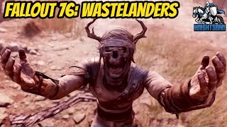 Fallout 76: Wastelanders - Official Trailer REACTION