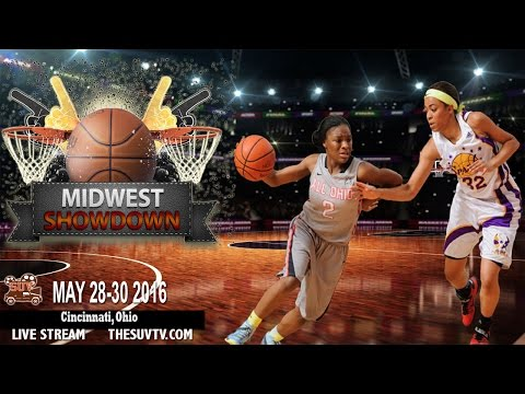 The Midwest Showdown - Elite Division: Michigan Crossover EYBL vs.  Indiana Flight Thunder-Marlin