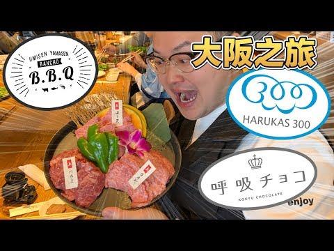 超高級A5燒肉購物看夜景!大阪關西真是讓人一去還想再去《阿倫去旅行》