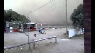 Impresionante Tormenta De Arena en Arroyo Pareja - Punta Alta - 2009